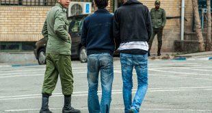 سارقان واحد تجاری شهرستان سرخه دستگیر شدند